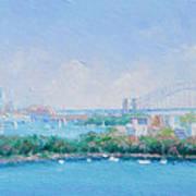 Sydney Harbour Bridge - Sydney Opera House - Sydney Harbour Poster