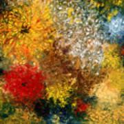 Symphonie De Fleurs Poster