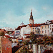 Synod Church - Belgrade Poster