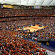 Syracuse Orange Carrier Dome Poster