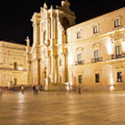 Syracuse, Sicily, Italy - Ortigia Downtown In Syracuse By Poster