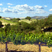 Syrah For Miles Poster