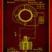 System Of Electrical Distribution Patent Drawing 2b Poster