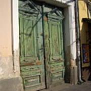 Szentendre Doors Poster