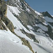 T-104406-b Fred Beckey Below Forbidden Peak Poster