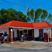 T. R. Lee Service Station Poster by Doug Strickland