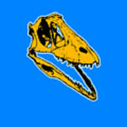T-rex Graphic Poster