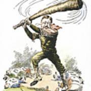 T. Roosevelt Cartoon, 1904 Poster