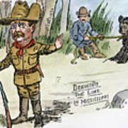 T. Roosevelt: Teddy Bear Poster