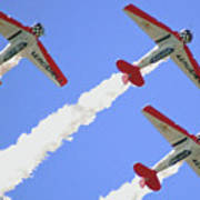 T6 Aerobatics Poster