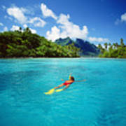 Tahiti, Bora Bora Poster