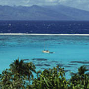 Tahiti, Moorea Poster
