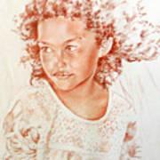 Tahitian Girl Poster