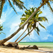 Tahitian Idyll Poster