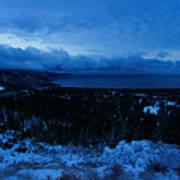 Tahoe Dawning Poster