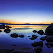 Tahoe Serenity Poster