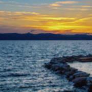 Tahoe Sunset Poster