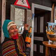 Taimi In Zermatt Switzerland Poster