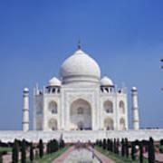 Taj Mahal Landscape Poster