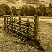 Take A Fence Poster