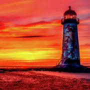Talacre Lighthouse - Wales Poster