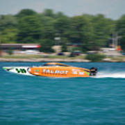 Talbot Offshore Racing Poster