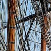 Tall Ship Series 11 Poster