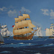 Tall Ships Duluth I Poster