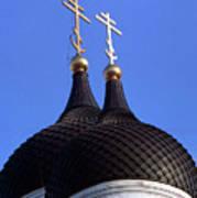 Tallinn Estonia Alexander Nevski Cathedral. Poster