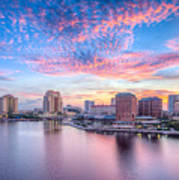 Tampa Bay Sunrise Poster