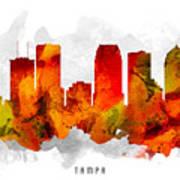 Tampa Florida Cityscape 15 Poster