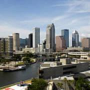 Tampa Florida Landscape Poster