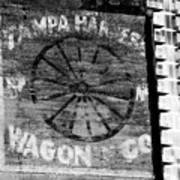 Tampa Harness Wagon N Company Poster
