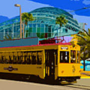 Tampa Trolley Poster