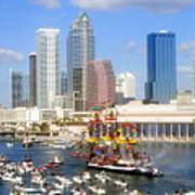Tampa's Flag Ship Poster