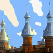 Tampa's Minarets Poster