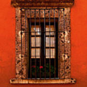 Tangerine Window Poster