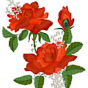 Tanners Rose Poster
