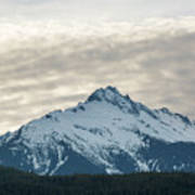 Tantalus Mountain Range Closeup Poster