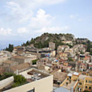 Taormina View II Poster