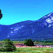 Taos Mountains Poster