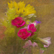 Tapestry Bouquet Poster
