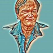 Tarantino Portrait Poster