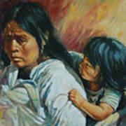 Tarascan Woman Poster