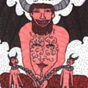 Tarot Of The Younger Self The Devil Poster