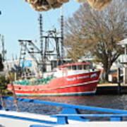 Tarpon Springs Shrimp Boat Poster