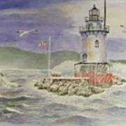 Tarrytown Lighthouse From The South Poster
