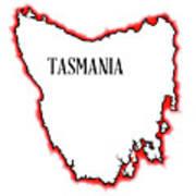 Tasmania Poster