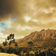 Tasmania Mountain Marvels Poster