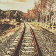 Tasmanian Country Tracks Poster